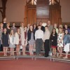 Confirmands, Ministers, and Mentors 2016